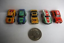 """Micro Machines #16 Rally Racers """"FULL SET"""" Lot of 5 cars in EXCELLENT Condition!"""
