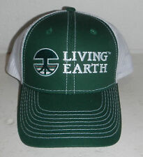 NEW Living Earth Mulch Compost Topsoil Landscape Company Logo Baseball Hat Cap