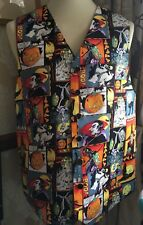 MENS WAISTCOAT - BESPOKE HANDMADE TO FIT YOU - HALLOWEEN WITCHES BOO!