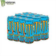MONSTER Energy Drink 12X500ML Mango loco
