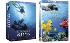 PELICULA BLURAY PACK DOCUMENTAL EXPEDICION OCEANOS+ARRECIFE DE CORAL (6DISCOS)