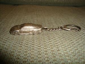 Opel Calibra DTM Schlüsselanhänger, Metall, versilbert? Automobilia Fanartikel