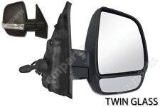 Fiat Doblo Door Wing Mirror Manual Twin Glass Right Driver O/S 2010 to 2015