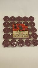 25 Scented Tealights Candles Tea Lights Tealight Candle Mixed Berries
