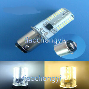 BA15D 2.6W 64 3014 SMD LED Corn Bulb Sewing Machine 110V 220V Silicone