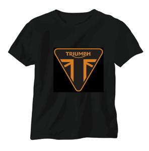 Triumph vintage British T shirt motorbike motorcycle biker