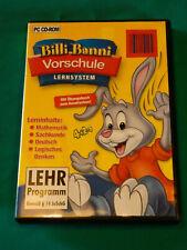 Lern-Software * Vorschule * Billi Banni * Mathe * Deutsch * logisches Denken *