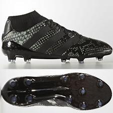 adidas Ace 16.1 Primeknit FG Mens Football Boots Black SIZE 6 6.5 7 7.5 10.5