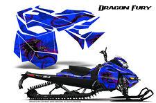 SKI-DOO REV XM SUMMIT SNOWMOBILE CREATORX GRAPHICS KIT DRAGON FURY PINK BLUE