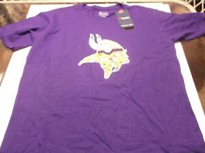 Minnesota Vikings  NFL Team Apparel proline shirt by Fanatics M purple