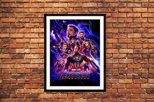 Avengers Endgame Movie Poster Marvel Maxi Prints 2019 Infinity War 2 -1649