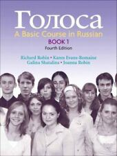 Golosa: A Basic Course in Russian, Book 1 (4th Edition) (Bk. 1) Robin, Richard