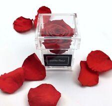 ❤️ NEW Exklusive Acryl-Rosenboxen🌹 mit haltbaren Rose als Geschenk NEU