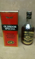 WHISKY OLDMOOR SPECIAL 12 YEARS FINEST BLENDED CON BOX - 0,70 cl. - 40°
