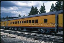 Union Pacific Sunshine Special Coach Portola July 92 ORIGINAL KODACHROME  Slide