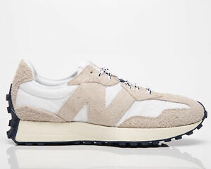New Balance 327 Men's Moonbeam White Casual Athletic Lifestyle Sneakers Shoes
