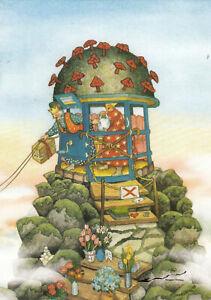 Postkarte: Inge Löök - Königinnen im abgesperrten Turm / Nr. 70