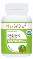 Organic Moringa Oleifera Leaf Powder 500mg TABLETS Pills Natural Multi-Vitamin