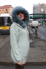 Big Hauber Tricot Pull Pull mohair Comme neuf True Vintage 90er Oversize Sweater