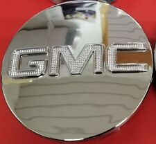 "GMC CHROME CENTER CAP Yukon Denali Sierra 3.25"" 83mm 18 20 22 Wheel 9595759 1pc"