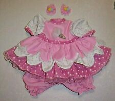 "NEW ADORA 20"" TODDLER TIME ICE CREAM PARTY DRESS OUTFIT"