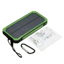 900000mAh Solar Power Bank Battery Charger 2 USB Waterproof For Cell Phone US -