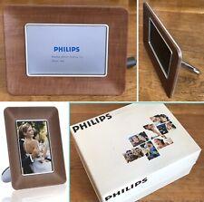 Philips Digital Photo Video Display Unit Photo Wood Frame High Quality 7FF1WD