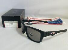 New Oakley Jupiter Squared SI Sunglasses USA Flag Prizm Black Iridium Lens Rare