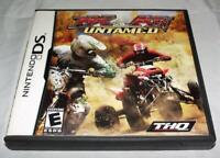 MX vs ATV Untamed Nintendo DS 2DS 3DS  *Complete*