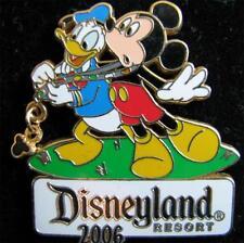 Disney Pin Trading Nights Collection 2006 Mickey Lanyard Donald Duck Pin LE