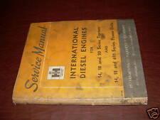 INTERNATIONAL SERVICE MANUAL 691 SERIES DIESEL ENGINES