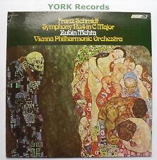 CS 6747 - SCHMIDT - Symphony No 4 MEHTA Vienna PO - Excellent Con LP Record
