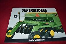 John Deere Superseeders Drills and Seeders Dealer's Brochure Gdsd4