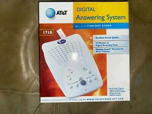 AT & T Digital Answering Machine, Model 1718