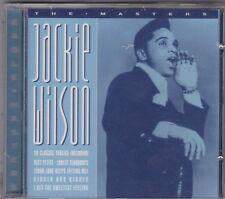 Jackie Wilson  # The masters #   20 tracks  CD NUOVO SIGILLATO