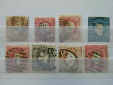1820 PORTUGAL SC# 0, 11, 14, 24, 28, 34, 38, 41  USED            CV $188