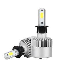 Pair H3 LED Fog Light Bulb for Toyota 4Runner Corolla Sienna Celica 7000K White