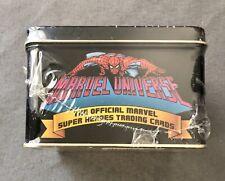 Marvel Universe Series 1 Premier Edition Collectors Tin Set 1990 #3601/4000 NEW