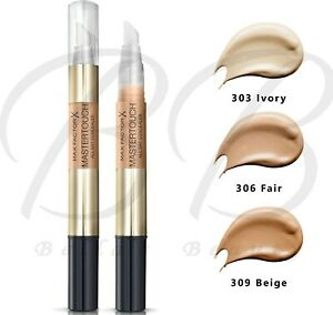 Max Factor Mastertouch All Day Under-Eye Concealer Pen 10ml SPF10 *ALL SHADES*