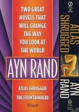 Ayn Rand : Atlas Shrugged and the Fountainhead by Ayn Rand (1997, Counterpack...