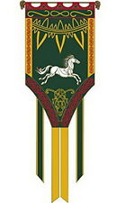 """Eomar""  Lord of the Rings Flag/Banner- Large 26""x72"" w Pole-Import (FW-3025)"