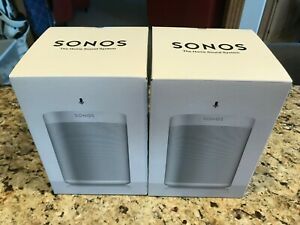 Sonos One White NEW in box - PAIR
