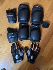Razor And Mongoose Lot Protective Knee And Elbow Pads And Gloves