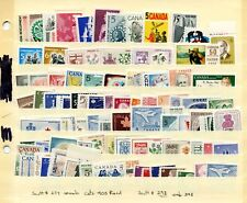 LOT 66438 CANADA  MINT NH CANADIAN STAMP  COLLECTION FROM THE 1960'S