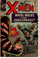 UNCANNY X-MEN #13 2ND JUGGERNAUT APPEARANCE KEY MARVEL COMIC BOOK SILVER AGE