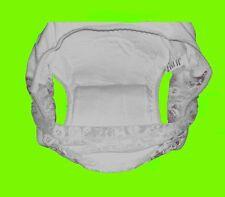 Adultos Pantalón protector Pantalones de incontinencia Pañal blanco Talla XL