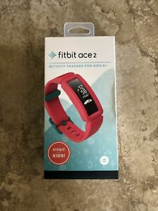 New Fitbit Ace 2 Activity Tracker for Kids in Watermelon With ATeal Clasp