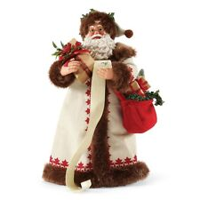 """Possible Dreams """"THE CARDINAL RULE"""" ~ Santa With List ~Clothtique"""