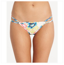 2017 NWT WOMENS BILLABONG MIXMASH ISLA BIKINI BOTTOM $45 M multi swimsuit flower