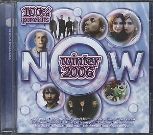 Now Winter 2006 - Various Artists 100% pure hits cd (postage free today)